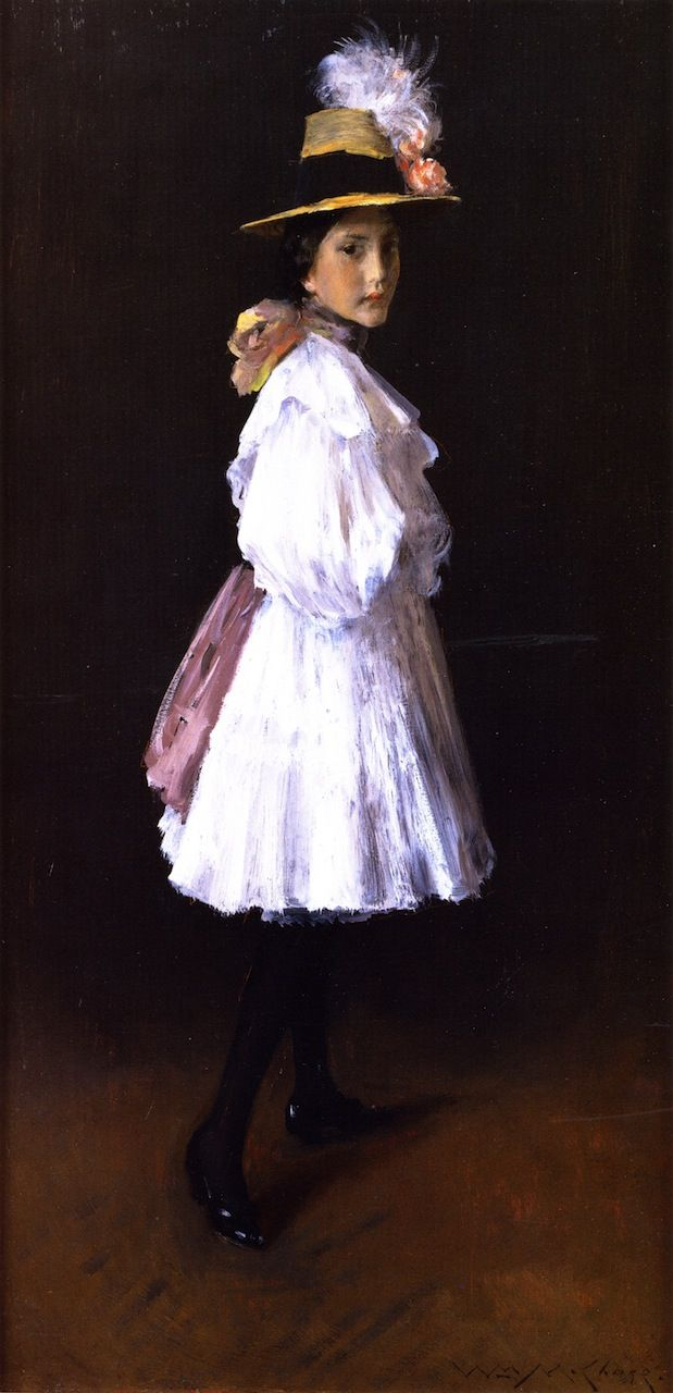 Alice (also known as Sketch of His Daughter Alice; Alice on Sunday) William Merritt Chase - 1896