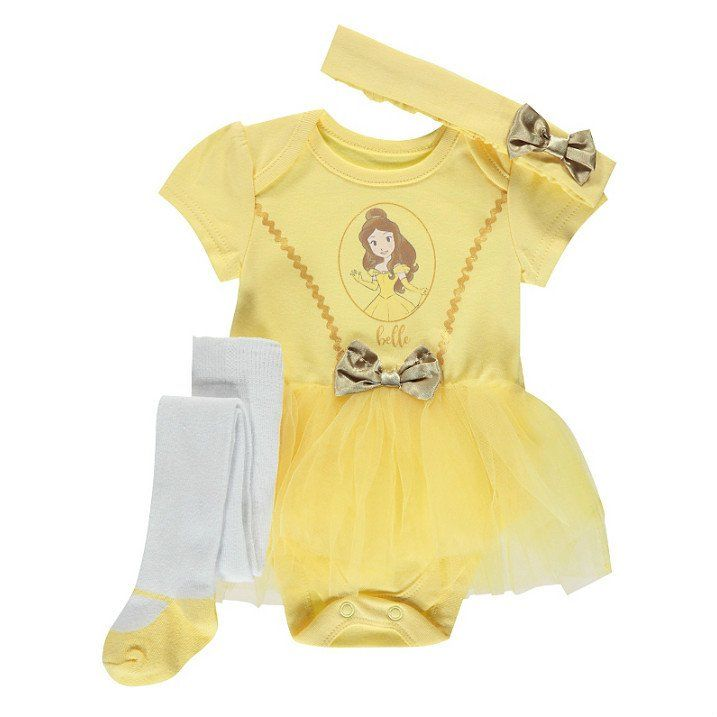 Disney Baby Princess Belle Tutu Outfit Set