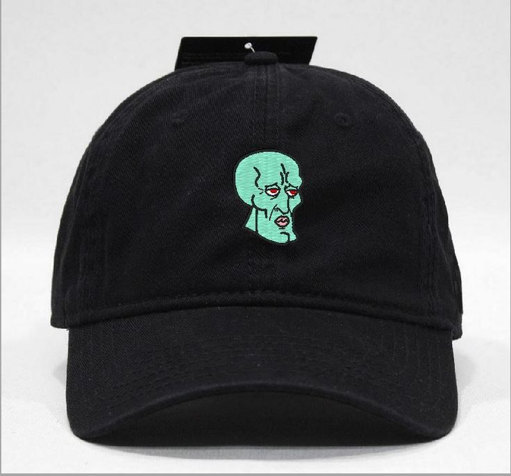 handsome face Squidward Hat via Hats 4 U. Click on the image to see more!