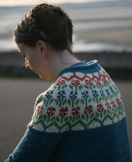 Another amazing sweater. I wish I could make one of these. I so want one!