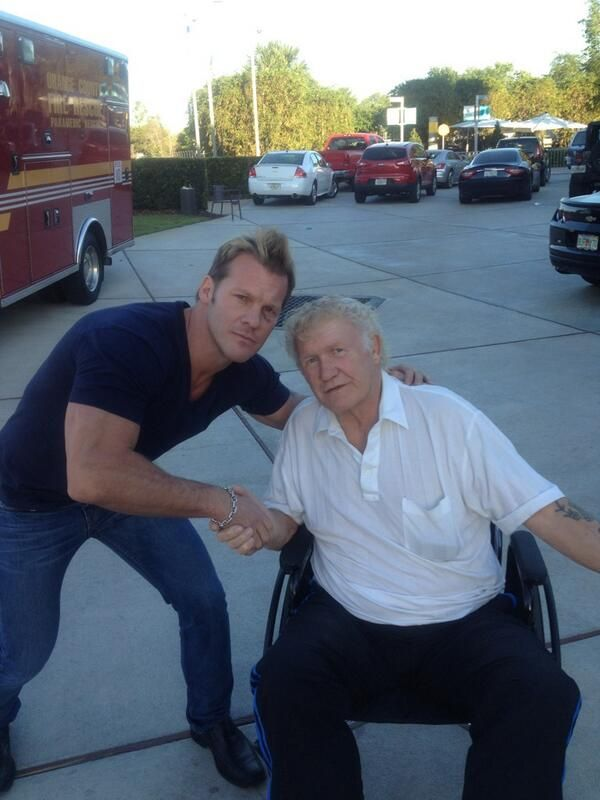 """Chris Jericho on Twitter: """"Great to see Harley Race, 1 of the greatest ..."""