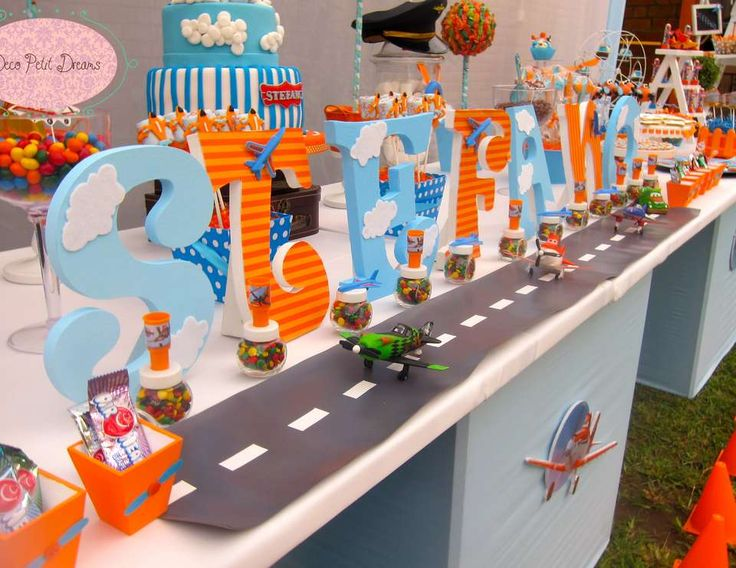 "Disney Planes / Birthday ""Disney Planes Birthday Party"" 