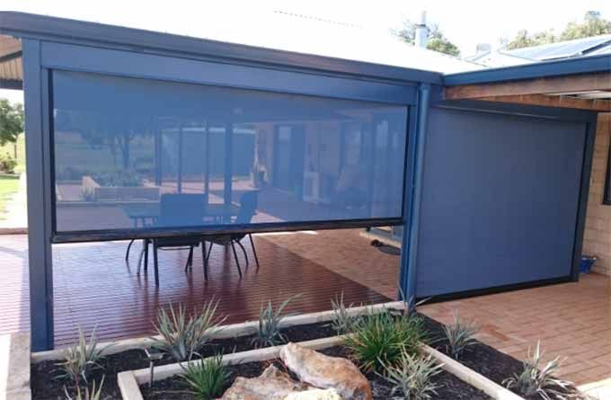 Busselton outdoor blinds are a great investment and will keep you more comfortable in your outdoor living area.