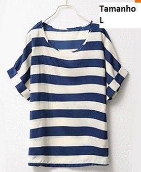 Camisa Dama da Moda por R$19,90