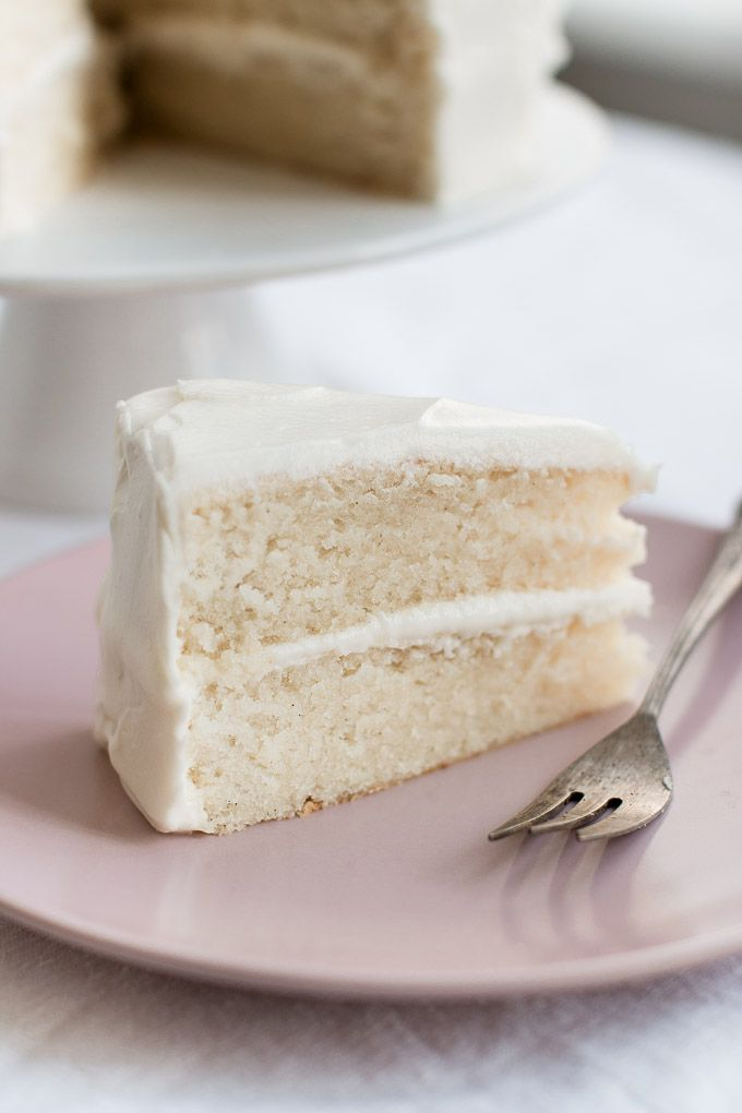 The Best White Cake Recipe Pretty Simple Sweet Recipe Best White Cake Recipe White Cake Recipe Homemade White Cakes