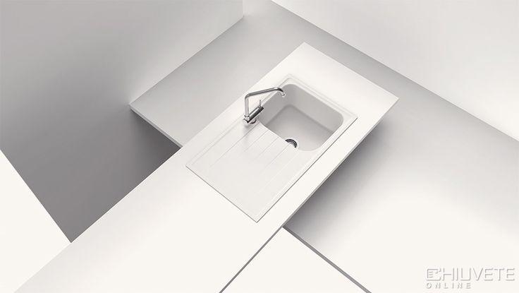 Calitate germana testata chiar la tine acasa! Dimensiunea chiuvetei este 860 x 500 mm, adancimea cuvei este 204 mm, iar latimea corpului de chiuveta trebuie sa fie de minim 45 cm.