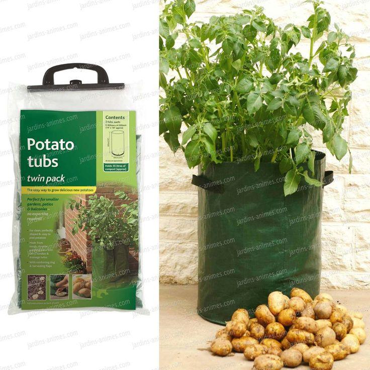 les 25 meilleures id es concernant cultiver des pommes de terre sur pinterest seaux de. Black Bedroom Furniture Sets. Home Design Ideas