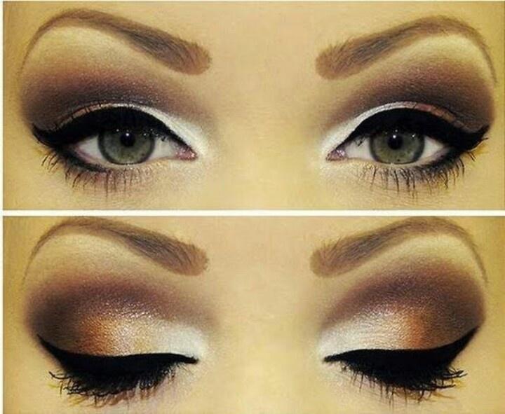 Gorgeous make up!