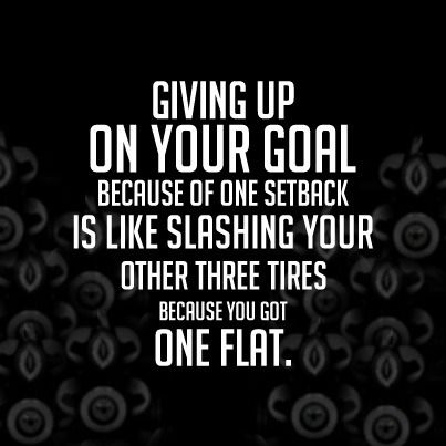 one flat! don't give up!