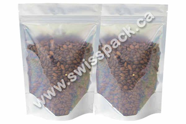 Clear / Clear Stand up Pouches Visit http://swisspack.ca/stand-up-pouches/