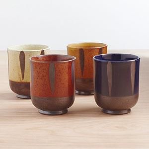 Reactive Glaze Teacups