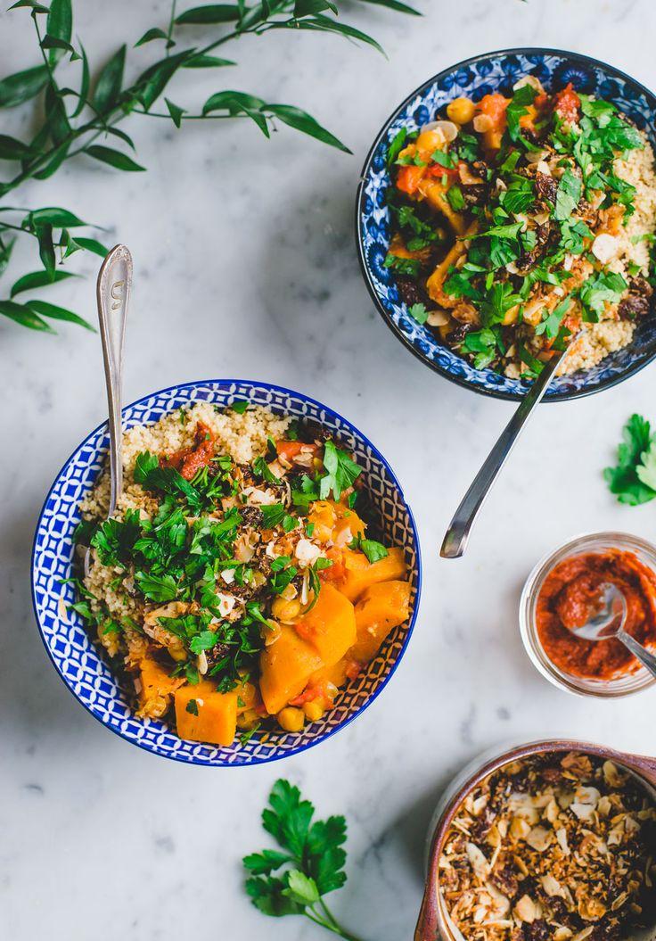 Een curry geïnspireerd op de keukens uit het Midden-Oosten, gemaakt met haverdrink en geserveerd met couscous. Lekker en gezond!