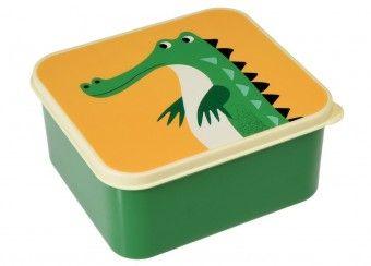 leuke lunchbox 'crocodile' °°°Mauro naar school°°°