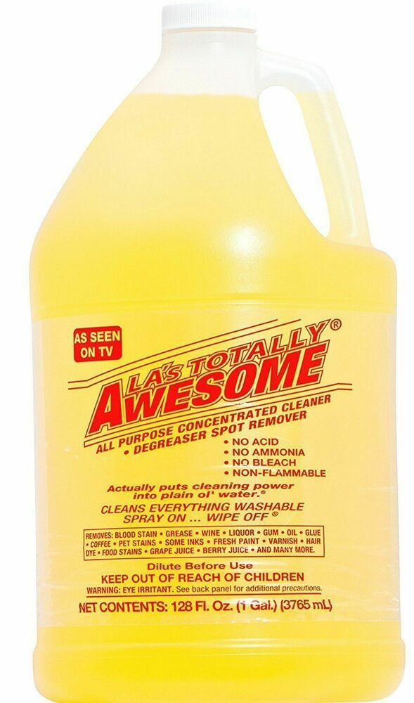 La S Totally Awesome All Purpose Concentrated Cleaner 128 Oz Refill Jumbo Size Lastotallyawesome Laundry Stain Remover Laundry Stains Degreasers