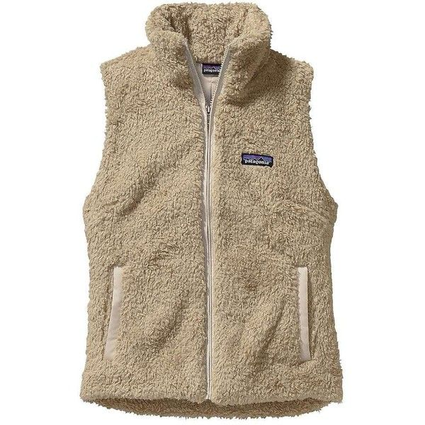 Patagonia Women's Los Gatos Vest ($99) ❤ liked on Polyvore featuring outerwear, vests, brown vest, vest waistcoat, brown waistcoat, patagonia vest and long vest