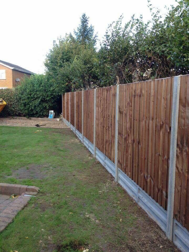 Garden Fencing Project in Lincolnshire Completed