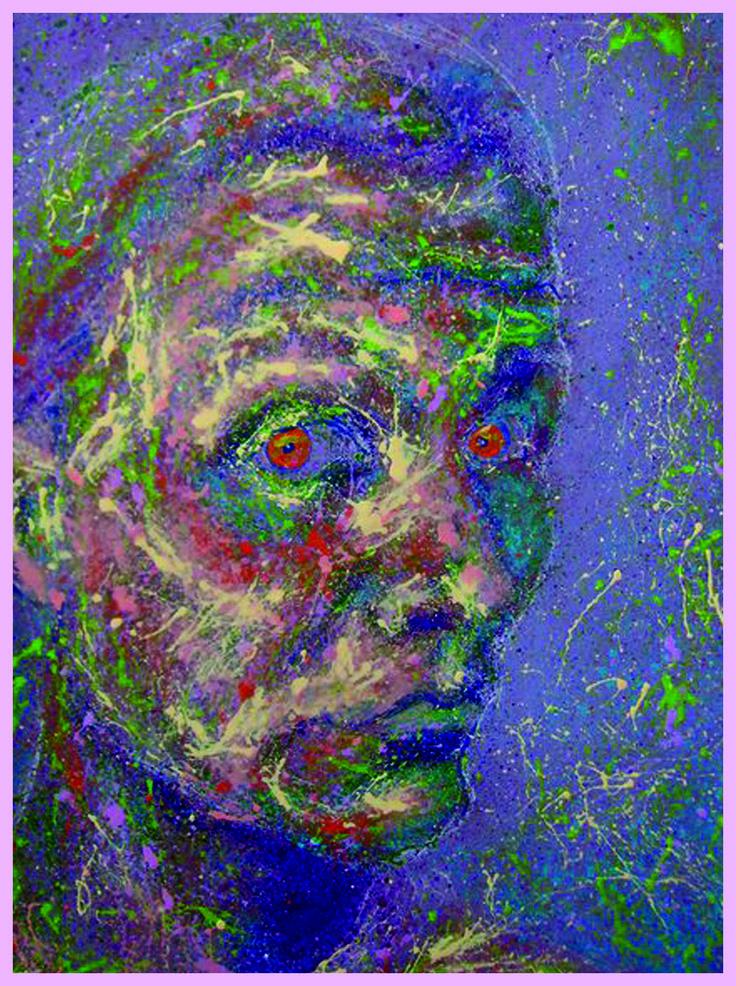 Auto Astral  tehnique: oil on cardboard 30/40cm #Cristiferkel  #oilpainting  #art  #Romaniaart #Timisoara #Astralplane #astralworld #astraportrait #astralentity #entity #astralbody #dripping #pollok  #actionpainting #simbolism #artworks #buyingart  #modernart