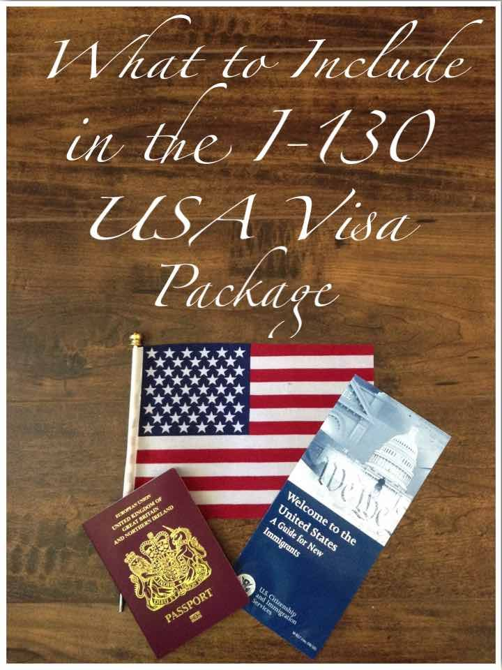 What to include in the i-130 USA Visa Package