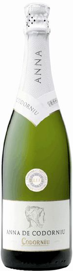 Anna de Codorniu Brut // Last night we drank to @Chris Cote Cooper 's health with a bottle of this.