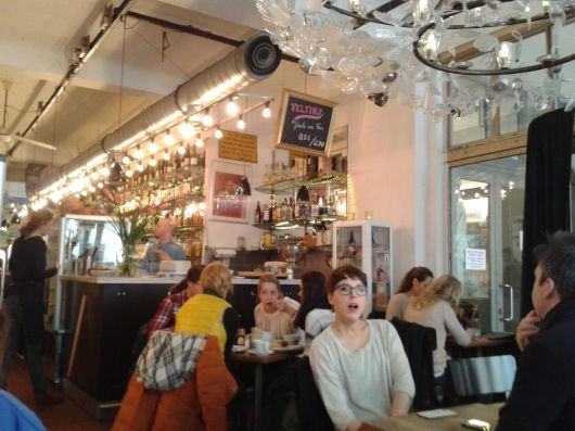 Café Bauturm Cologne (by Judith Salamon)