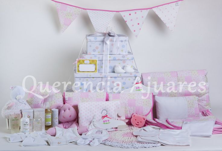 """Nuestro Ajuar """"Bienvenido Bebé""""  Colores disponibles: rosa, celeste y neutros (verde, natural)"""