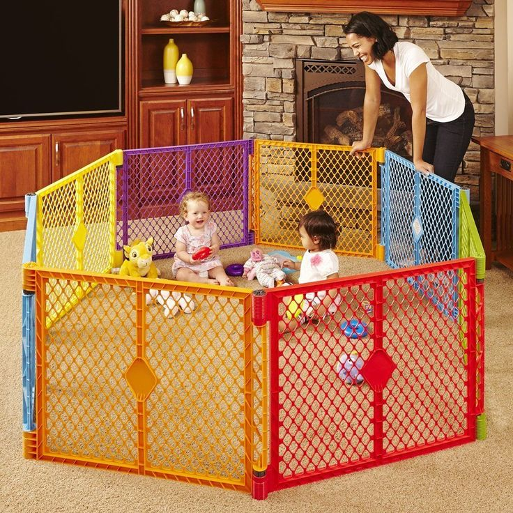 Play Pen Puppy Cage Yard Baby 8 Panels Multi Purpose Enclosure Day Care Gate NEW #NorthStatesIndustries