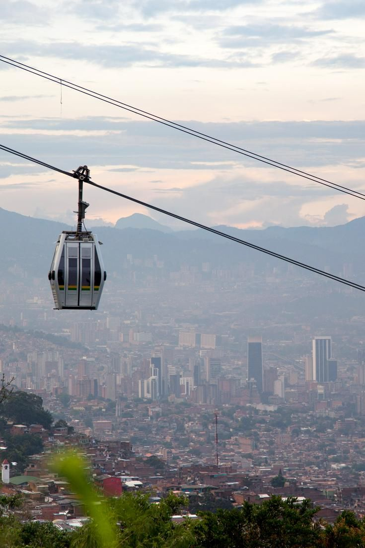 Medellín, Colombia: Urban renewal with innovative architecture and design. / #11 on @nytimes's list of 52 Places to Go in 2015