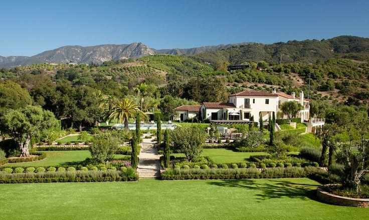 Villa Sevillano, Santa Barbara California
