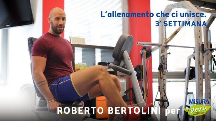 """Pronti con la terza settimana de """"L'allenamento che ci unisce"""" con Roberto Bertolini? Andiamo! http://bit.ly/2qsVtsr #gym #workout #wellness"""