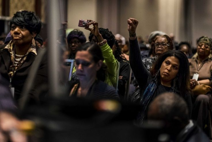 Black women are most worried about the outcome of the 2016 election, poll finds - The Washington Post (Photograph: Melina Mara)