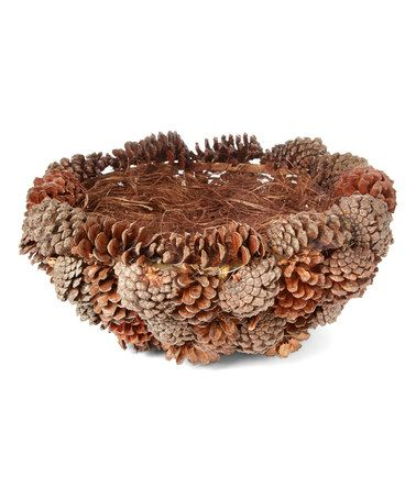 Another great find on #zulily! Pinecone Basket #zulilyfinds
