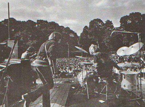 The Hyde Park Concert, London, England UK, 1969.