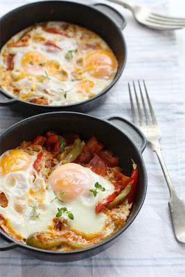 Shakshuka Eggs Recipe