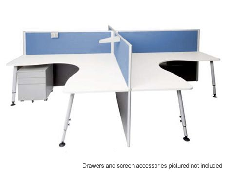 Rapid Screen 4 Position Workstation