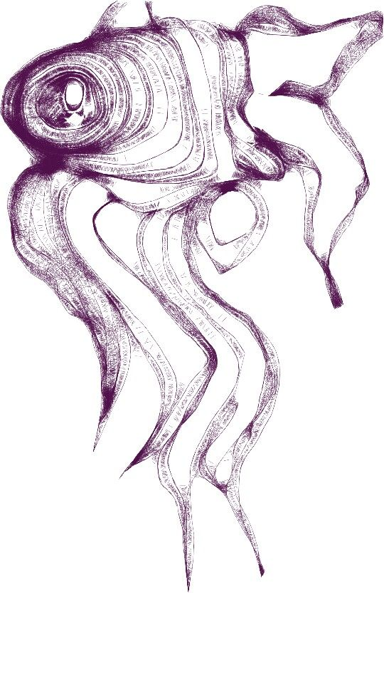 #ART #blackandwhite #Pisces #abstract #expression #doodle #artoftheday
