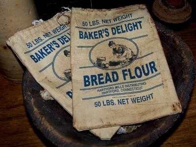 The Flour Sack--poem