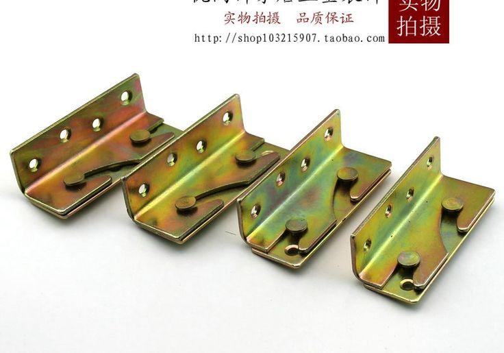Dikke bed bed inlassen scharnier pin connector Chuangjiao yard meubels bed bed scharnier een stealth pak(China (Mainland))
