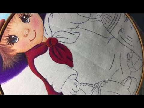 Pintura En Tela Brujito # 2  Con Cony