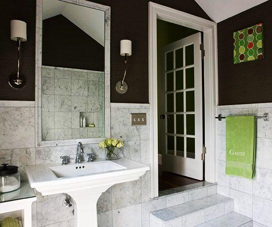 98 Best Brown Bathrooms Images On Pinterest