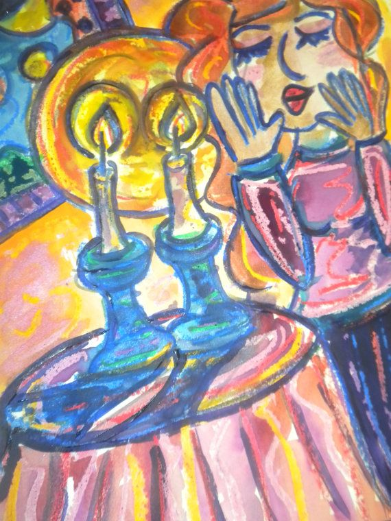 Shabbat35 best Shabbat images on Pinterest   Shabbat shalom  Jewish art  . Shabbat Candle Lighting Miami. Home Design Ideas