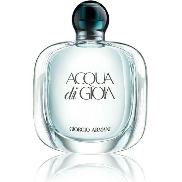 Giorgio Armani Acqua Di Gioia found on Polyvore featuring beauty products, fragrance, heart perfume, giorgio armani, giorgio armani perfume, floral perfumes and peony perfume