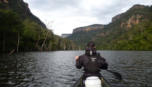 Video Post: Paddling Magnificent Shoalhaven Gorge