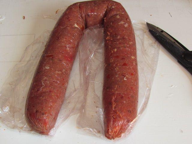 Chorizo maison 100% régime (98Kcal/personne)