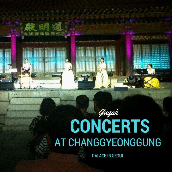 $1 Concerts at Changgyeong Palace, Seoul