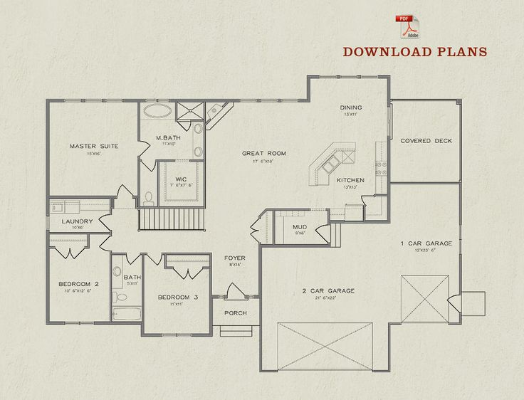 Floor Plan | The Abby--this is my favorite one.