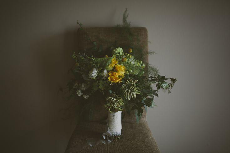 yellow/green bouquet http://wanakaweddingflowers.co.nz/