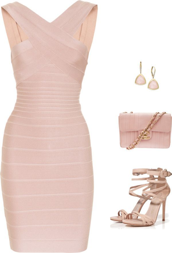 So sexy!Herve Leger dress. This is worth buying. #fashion 108Only