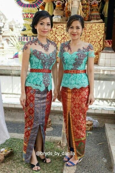 Kebaya for wedding party