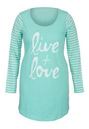Live + love plus size nightshirt - maurices.com