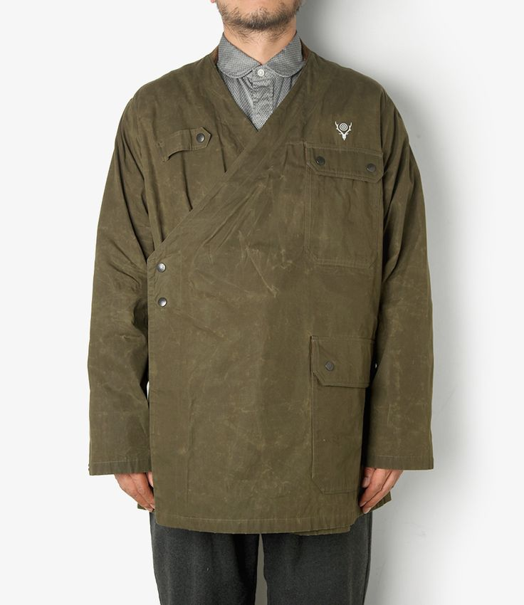 nepenthes online store | SOUTH 2 WEST 8 Sherpa Jacket - Paraffin Coating